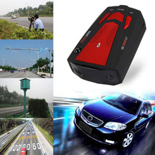 BreaDeep Auto 360 Degree Car Radar Detector 16 Band for Vehicle V7 Anti Speed Voice Alert Warning with 16 Band LED Display Laser