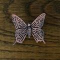 Botão de Bronze antigo gabinete armário de borboleta maçanetas de armário da cozinha gaveta móveis de Hardware