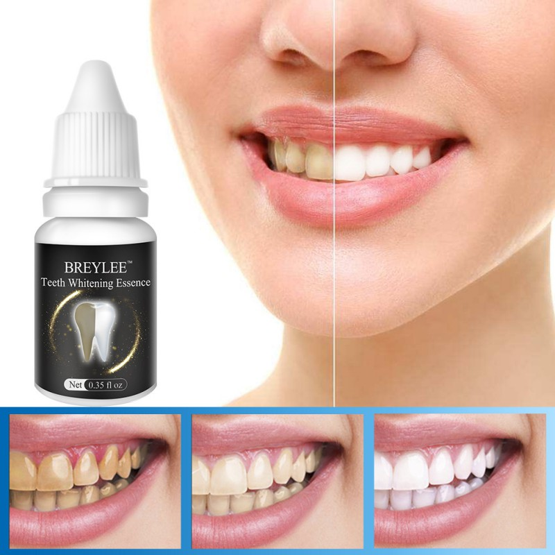 New Teeth Whitening Essence Remove Plaque Stains Tooth Cleaning Whitening Product