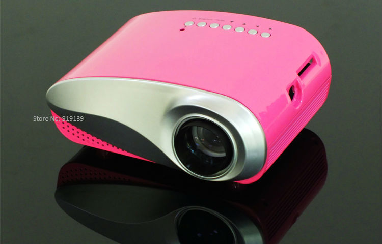 mini projector red pic 4