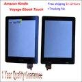 Тест высокое Качество 6 Дюймов Сенсорный Экран Планшета Планшетный Сенсорный панель Переднее Стекло с Датчиком Для Amazon Kindle Voyage Книги читатель
