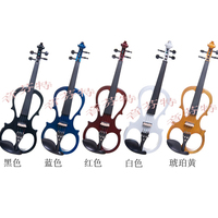Violin electro-acoustic violin ebony violin quality solid wood professional level