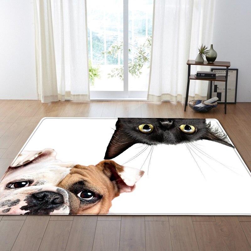 Livraison directe chien chat Animal grands tapis de sol pour salon tapis antidérapants pour chambre canapé tapis Alfombras tapis de chevet