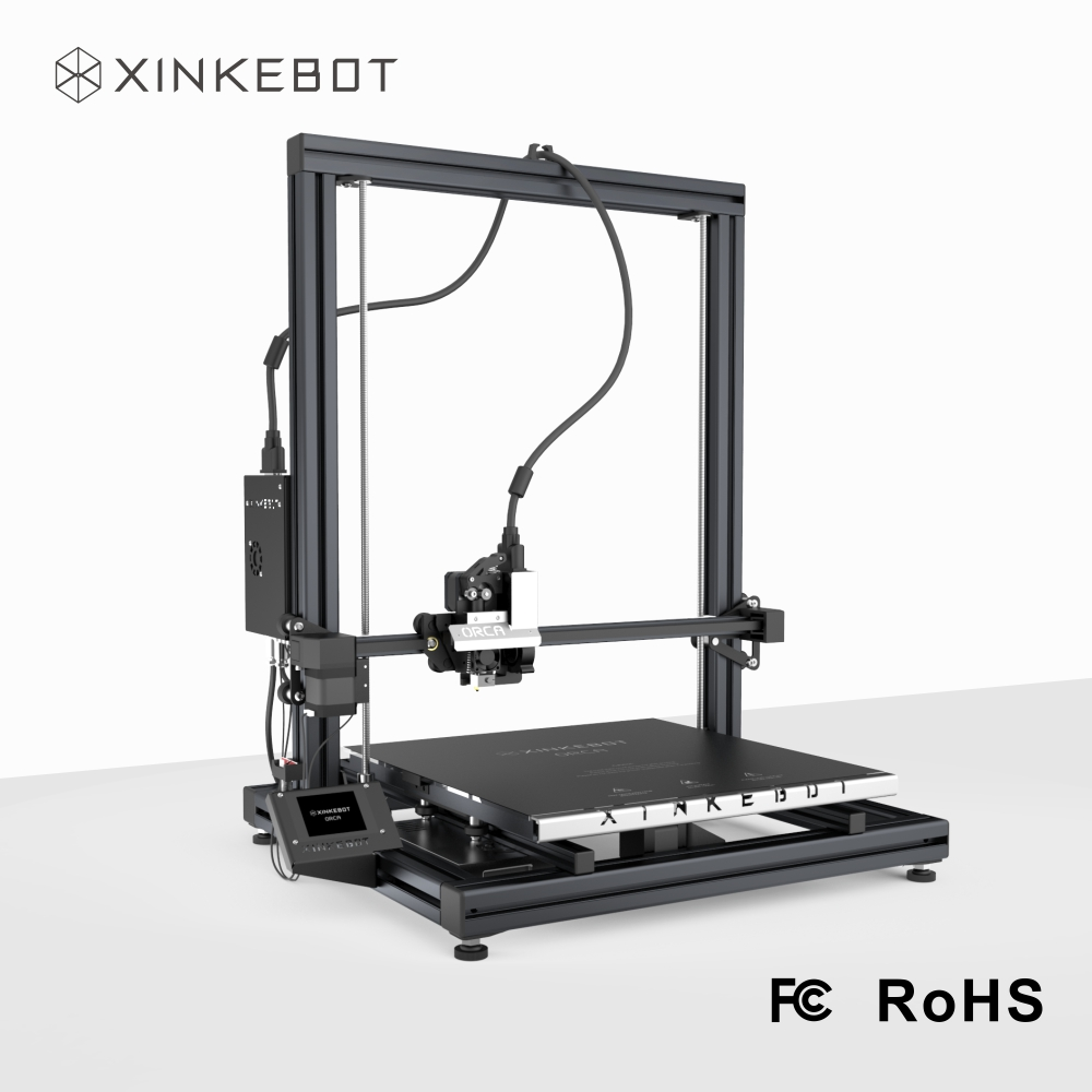 XINKEBOT 90 Assembled High Resolution Large Format 3D Printer Orca2 Cygnus with E3D Hotends