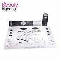 BeautyBigBang Silicone Nail Stamping Plaques Stamper Grattoir Papier Shell Polonais Timbre En Plastique DIY Nail Art Modèle Manucure Outil