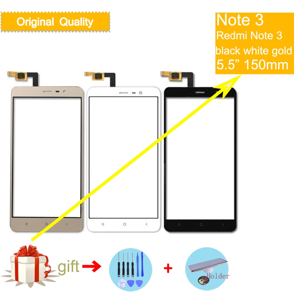 Felfial <font><b>Original</b></font> TouchScreen Für <font><b>Xiaomi</b></font> <font><b>Redmi</b></font> Hinweis 3 Pro Note3 Pro 150mm Touchscreen Digitizer Touch Panel Sensor Vorne glas image