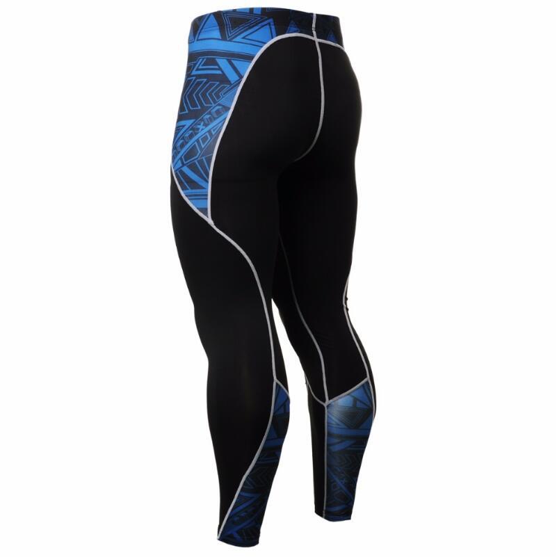 MMA Uomini di Compressione Correre Tute da jogging Abbigliamento Sportivo Set giacca E Pantaloni Palestra Fitness Collant allenamento abbigliamento di alta qualità - 5