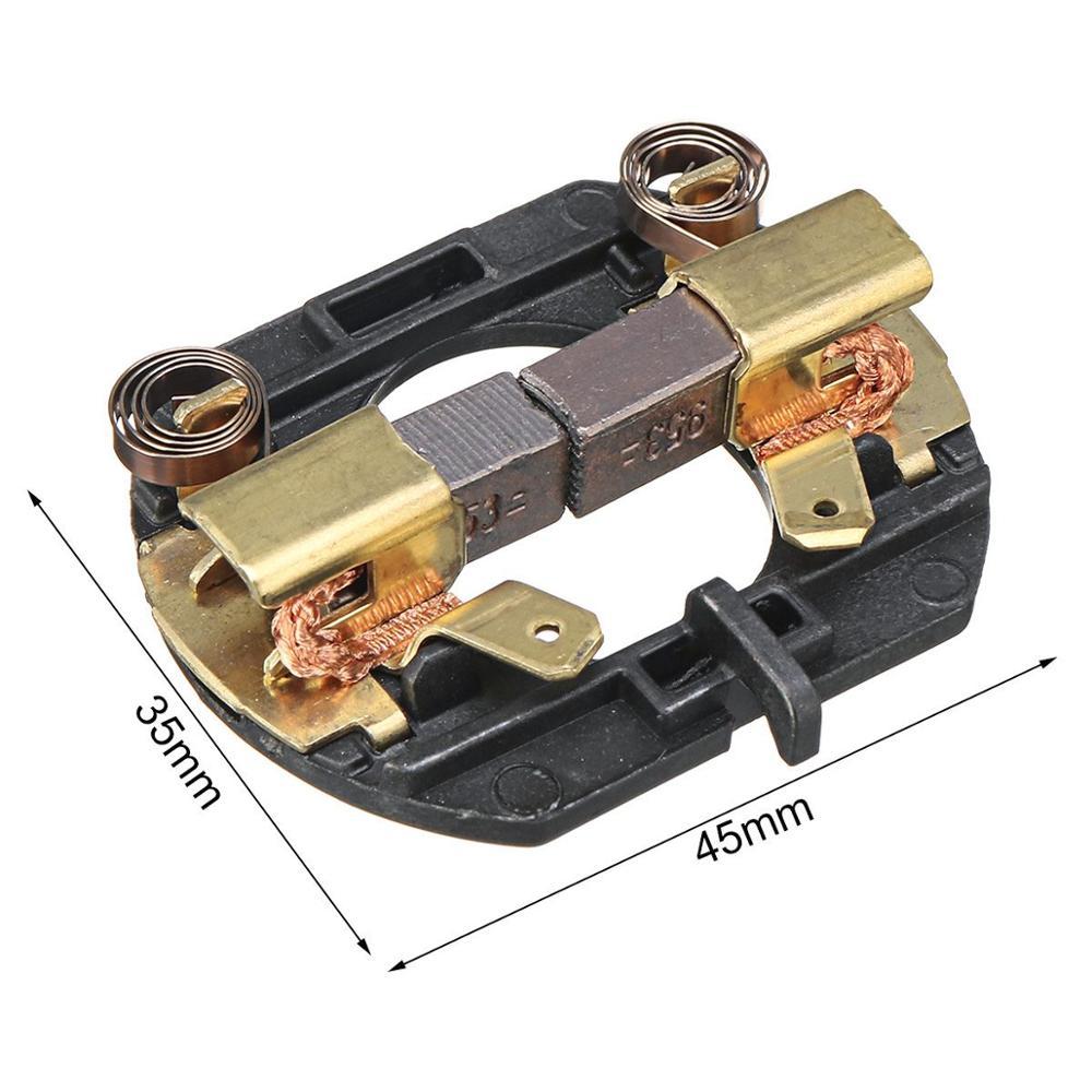 Carbon Brush Holder N187232 N131746 For DeWALT DC820 DC822 DC825 DC827 DC830 DC832 DC835 DC837 DC840 DCF830 DCF880 DCF885L2