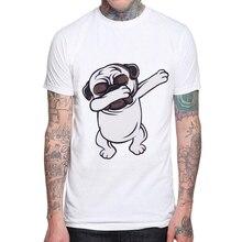 Hot Sales Funny Dog Cartoon Design Men t shirt 100 Cotton Short Sleeves French Bulldog Printed Male Tops Hispter Mens Tee shirts dog surfer printed cartoon tee