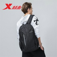 881137119010 Xtep 2018 autumn new men and women shoulder bag school bag sports backpack travel running bag durable