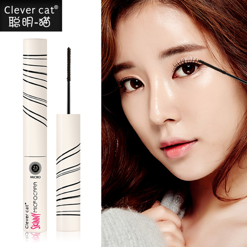 Clever cat 4 Colors Mascara Makeup Curling Lenthening Thick Korean Style Eyelash Make Up Fast Dry Natural Waterproof Extension(China)