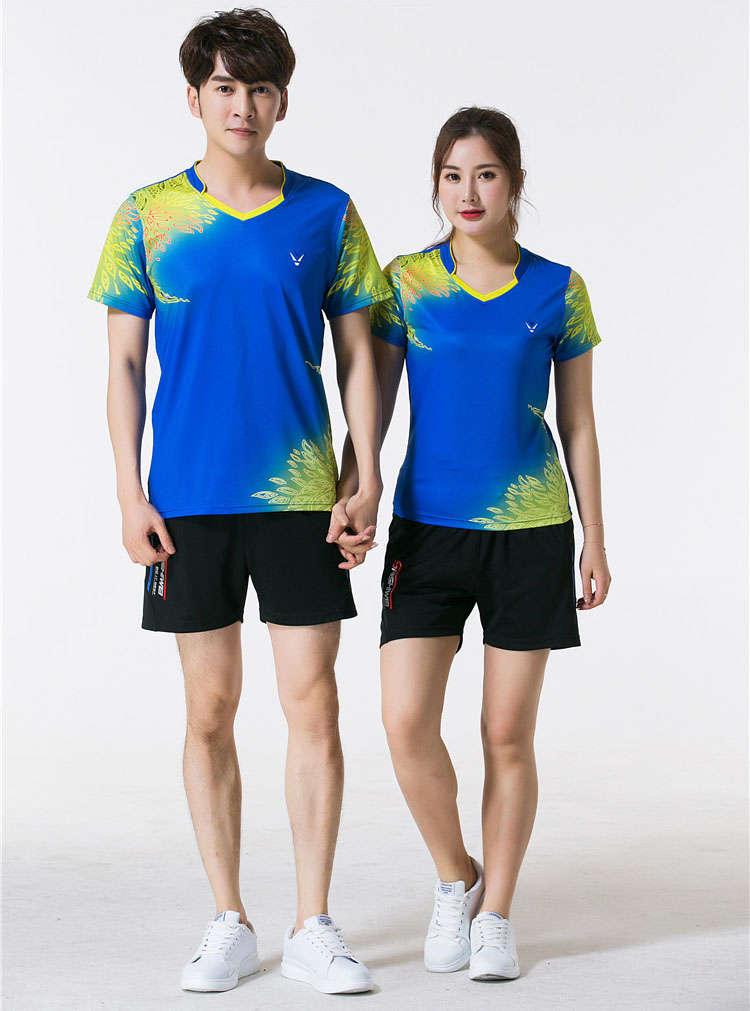 Бадминтон футболка для Для мужчин Для женщин, 2018 новый Теннисный футболка S, теннис рубашка Для мужчин, спортивные kleding heren в теннис, Для мужчи...