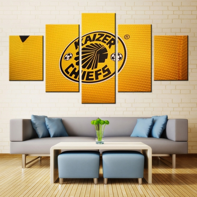 Best Gifts for Mens or Boys Fashion 5 Pieces Football Team Sport Art ...
