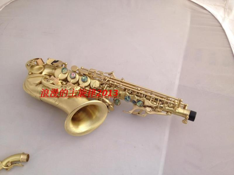 Brands Soprano saxophone S-991 B flat musical instruments Professional Children and Adult Soprano Saxophone Free new soprano saxophone b flat playing professionally yss 475 soprano musical instruments soprano sax professional free shipping