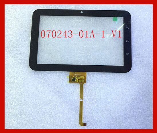 Original series  7- inch Tablet Capacitive touch screen 070243-01A-1-V1 new 7 inch tablet pc mglctp 701271 authentic touch screen handwriting screen multi point capacitive screen external screen