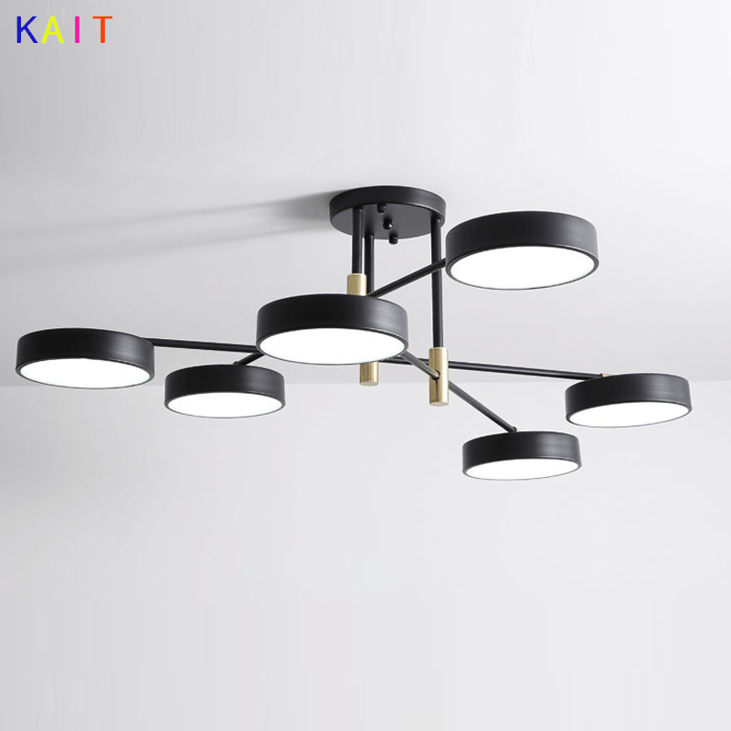 Modern pendant lights Wrought iron lampshade Nordic Dining Room Designer Hanging pendant lamps