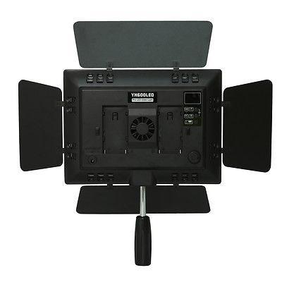 YONGNUO YN-600 YN600 LED luč 5500K Barvna temperatura nastavljiva - Kamera in foto - Fotografija 4