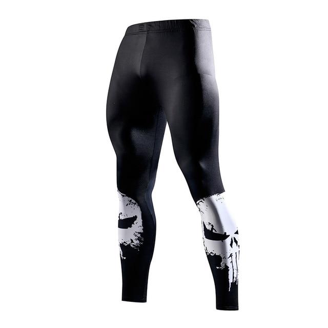 Super hero Running Tights Men Fashion casual Pants Fitness Sport Leggings Men Gym Jogging Trousers Sportswear Compression Pants 2