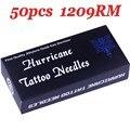 Esterilizan Agujas Del Tatuaje 50 UNIDS 9RM Magnum Redonda Agujas de Tatuaje Máquina Profesional Del Tatuaje Agujas de Acero Inoxidable 316L