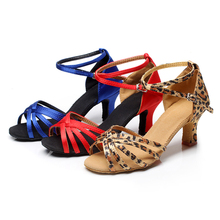 The New Women's Dance Shoes Heeled Tango Ballroom Latin Salsa Dancing Shoes For Ladies Hot Sales