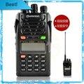 Envío libre wouxun kg-uvd1p doble banda, Frecuencia Dual, Pantalla Dual, Doble Modo de Espera con 1700 mAH batería KG-UVD1P walkie talkie
