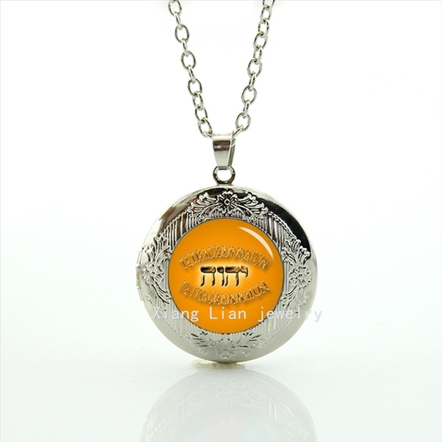 Collier maxi necklace new fashionable stylish locket necklace god collier maxi necklace new fashionable stylish locket necklace god tetragrammaton symbol jesus jehovahs witnesses gift t680 mozeypictures Gallery