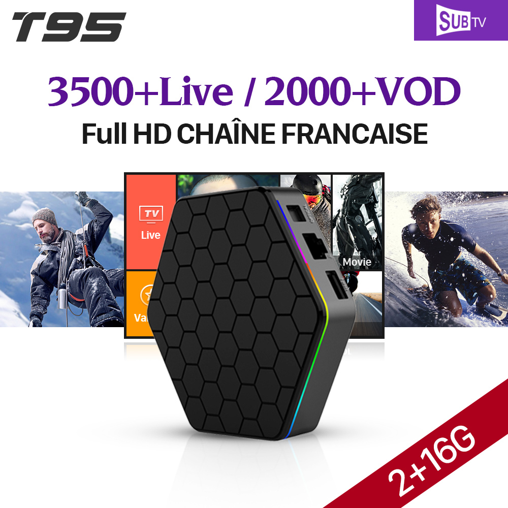 IPTV Box Arabic T95Zplus Android 7.1 Smart TV Box 2G S912 SUBTV Code IPTV Subscription Europe French Arabic IPTV Box android box iptv stalker middleware ipremuim i9pro stc digital connector support dvb s2 dvb t2 cable isdb t iptv android tv box