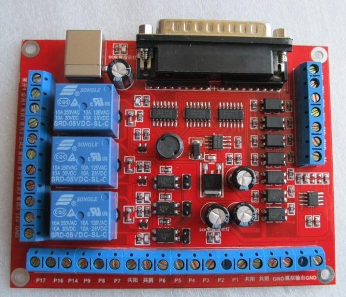 Freeshipping Engraving machine interface board  MACH3 6 axis CNC interface board freeshipping cc2530 networking experiment board zigbee dev board