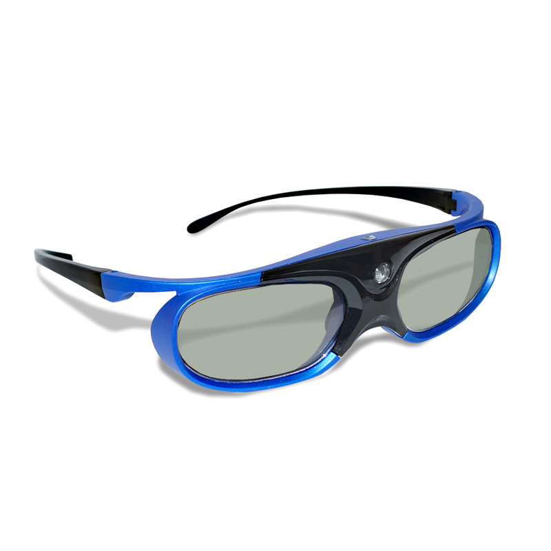 4pcs Active Shutter Rechargeable 3D DLP Glasses Support 120/144HZ For Xgimi Z3/Z4/H1/H2 Nuts G1/P2 BenQ Acer &DLP LINK Projector