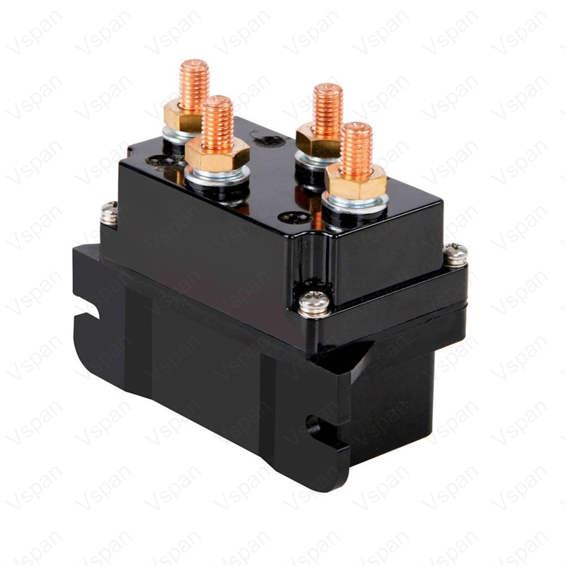 Vspan 500A 12V Winch Solenoid Relay Controller 500A DC Switch 4WD 4x4 Offroad Boat ATV Control For Jeep/Toyota ETC Winch Parts