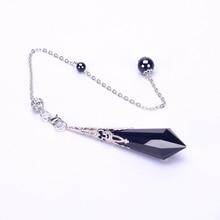 Natural Black Obsidian Dowsing Crystal Pendulums for Metaphysical Spiritual Chakra Balance Pendulum for Divination  Gift Box Set marvis black box gift set