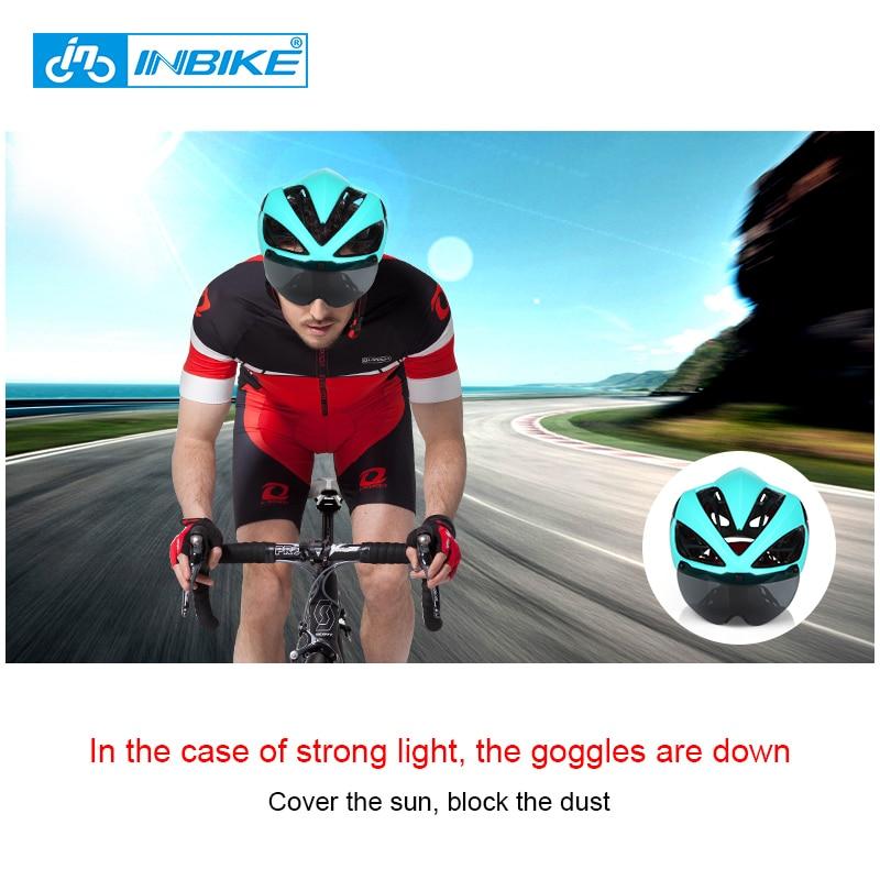 INBIKE Biciklistička kaciga Kaciga za bicikle Magnetske naočale - Biciklizam - Foto 2