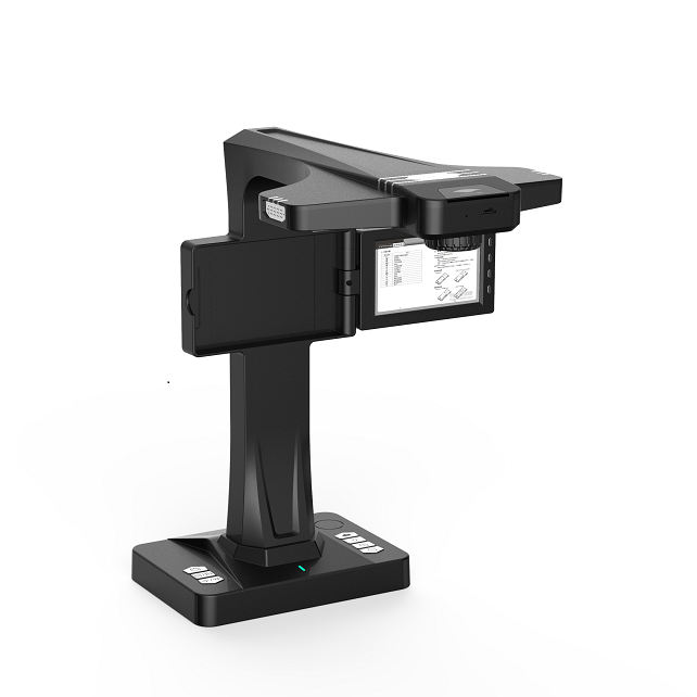 Eloam BS2000P HD book scanner 2GB 16MP document camera with OCR