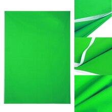 5x7ft Photography Fondo de Pantalla Verde de Algodón Chromakey Muselina Foto telones de fondo de estudio de iluminación