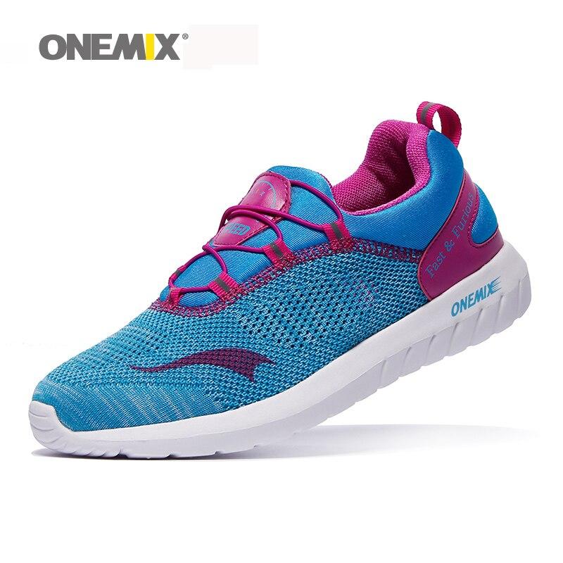 2017 venta caliente luz onemix hombres zapatillas unisex zapatos que caminan del