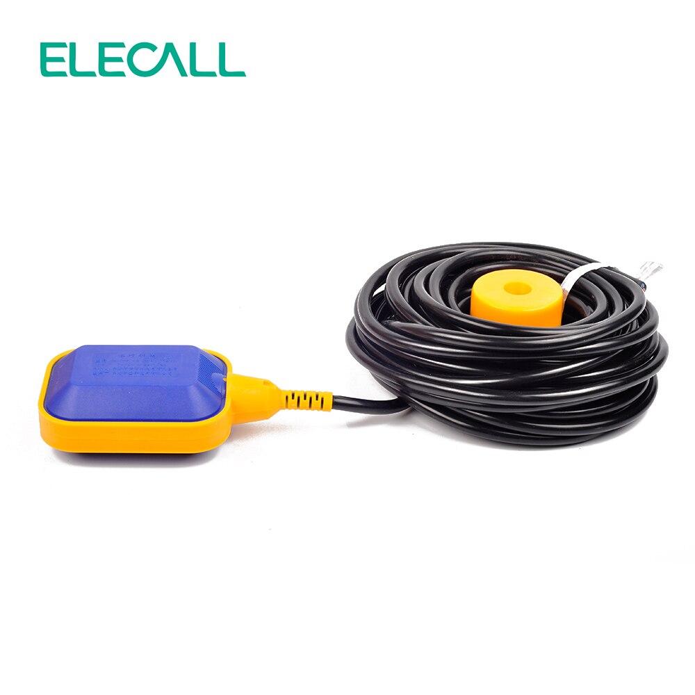 ELECALL 12M contrôleur flotteur interrupteur liquide commutateurs liquide fluide niveau d'eau flotteur interrupteur contrôleur contacteur capteur