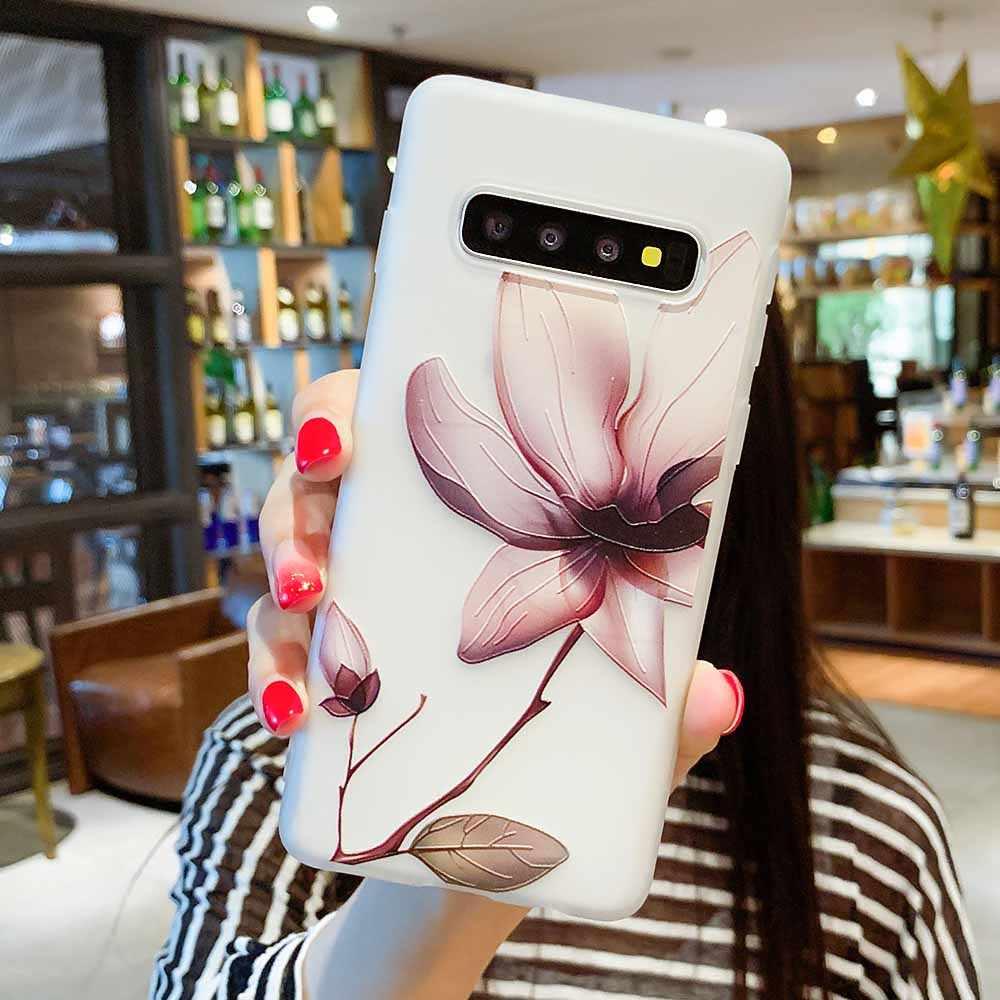 Чехол для samsung Galaxy S10 A5 2017 A8 A6 плюс J4 J6 2018 J3 J5 J7 A3 A5 A7 2016 S8 S7 край S9 Plus Note 9 цветов силиконовый чехол s