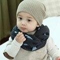Девочка мальчик ребенок детские теплые шарфы шейный платок леопарда печатных поводка шарф 1-8Y