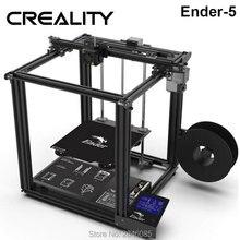 CREALITY 3D Drucker Ender 5 Dual Y achse motoren Weiche Magnetische bauen platte power off lebenslauf geschlossene struktur