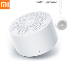 цена на Original Xiaomi Portable AI Bluetooth Speaker Mini Wireless HD Stereo Bass Sound Box with Mic Hands free Call AI Bluetooth 4.2