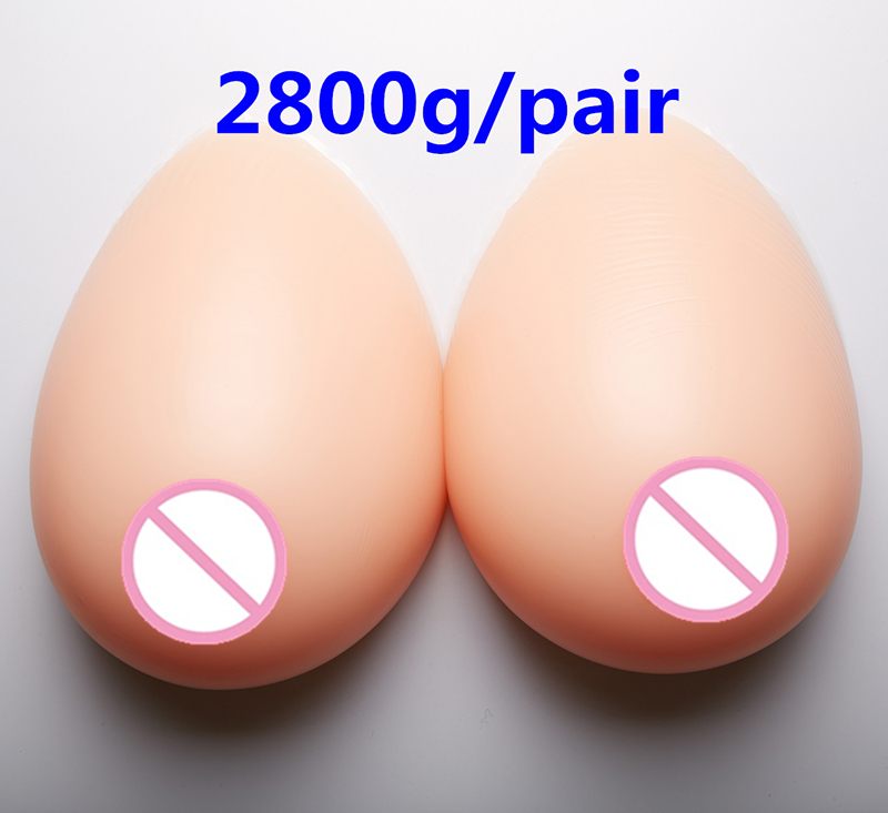 цены 2800g/pair Full Breast Enhancers Silicone Realistic Breast Forms Adhesive Fake Breast Boobs Silicone Crossdresser Boobs