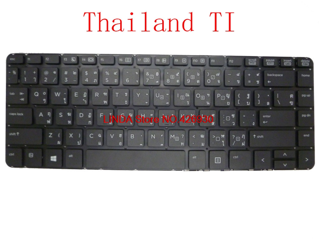 Laptop Keyboard For <font><b>HP</b></font> 440 G0 440 G1 445 G1 721510-001 721520-281 721520-DH1 721520-131 721520-B71 721520-BG1 721520-031 image