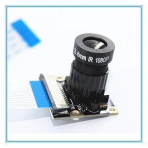 Image 2 - ラズベリーパイ 3 ナイトビジョン魚眼カメラ 5MP OV5647 72 度焦点調節可能なカメラのためのラズベリーパイ 3 モデルbプラス
