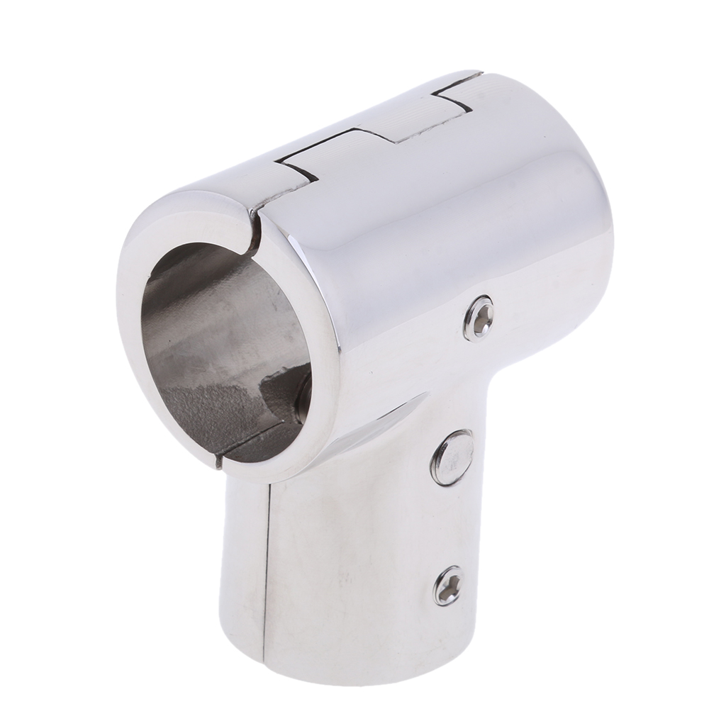 Image 5 - Heavy Duty 316 SS Boat Hand Rail Fitting  90 Degree T/Tee Hinged/Split for 1 inch Tube-in Marine Hardware from Automobiles & Motorcycles