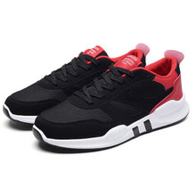 LAIDILANGTU Men Sneakers shoes trend spring and autumn new mens mesh breathable movement wild casual