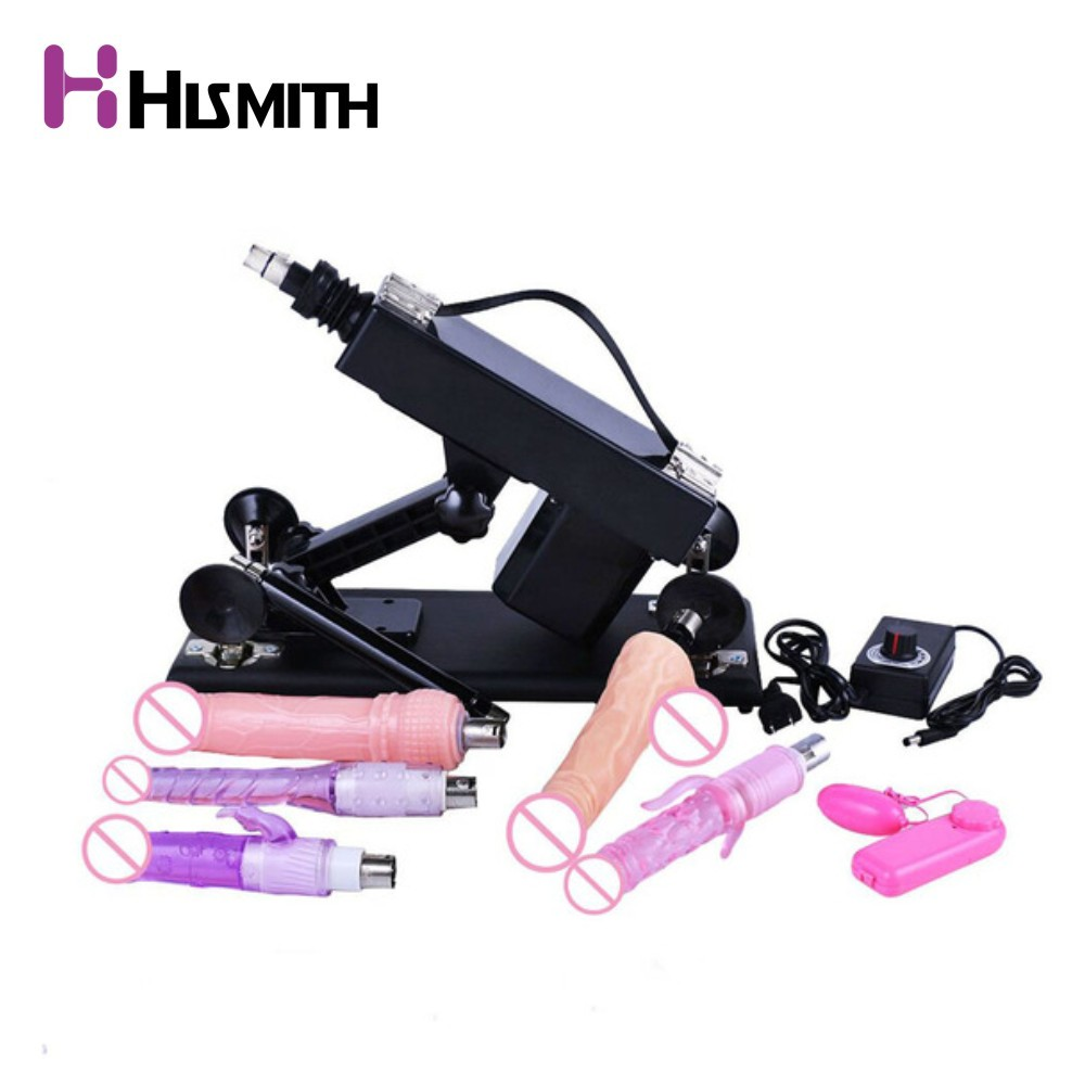 HISMITH Automatic Sex Machine Female Masturbation Pumping Gun Retractable Sex Machines for Women Sex ProductHISMITH Automatic Sex Machine Female Masturbation Pumping Gun Retractable Sex Machines for Women Sex Product