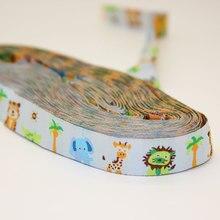 Handmade Style Animal Jacquard Webbing Zakka Sewing Label Santa Claus Cows Penguins Ribbon Sewing Tape Ribbons For DIY