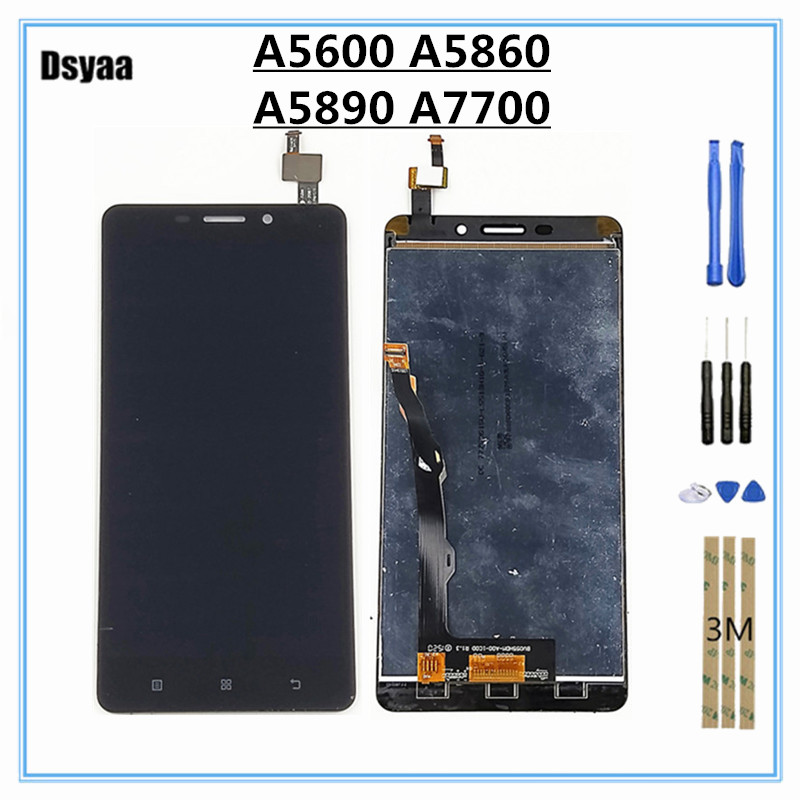 For Lenovo A5600 A5890 A5860 A7700 LCD Display Touch Panel Screen Digitizer Glass Assembly 5.5 inch LCDFor Lenovo A5600 A5890 A5860 A7700 LCD Display Touch Panel Screen Digitizer Glass Assembly 5.5 inch LCD