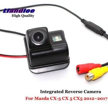 Car Backup Parking Camera For Mazda CX5 CX-5 CX 5 2012-2017 2012 2013 2014 2015 2016 AUTO Rear View Rearview Reverse Camera HD цена 2017