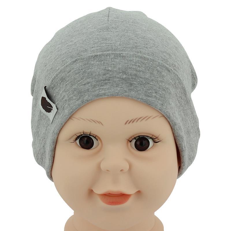 1Pcs Baby Hat Newborn Boy Girl Bonnet Accessories Pure Cotton Gray Winter Kids Cap Stuff Newborn Photography Props